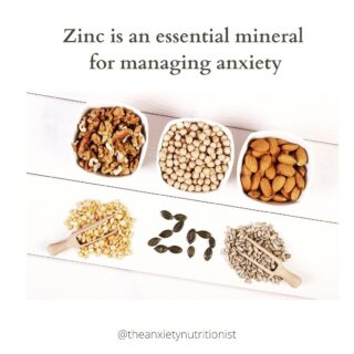 Zinc is an important nutrient for managing anxiety. It helps to decrease inflammation in the body, which contributes to anxiety and other mood disorders. Zinc is also important for helping with cell growth, a healthy metabolism, digestion, nerve function and immunity!  If our bodies don't have access to essential vitamins and minerals, such as zinc, then they can't function as well. Leading to decreased immunity, energy, ability to cope with stress.   Zinc can be found in cashews, legumes, shellfish, egg yolks and whole grains. 🦞🦐🥚🍳🥜🌾  The RDI for zinc is 8mg/day for women and 14 mg/day for men.   #anxiety #anxietyrelief #guthealth #mentalhealth #cbt #cognitivebehaviortherapy #depression #healyourgut #brisbanedietitian #guthealing #eatrealfoods #ibs #consitpation #bloating #anxietynutrition #anxietydietitian # #foodformood #vitamind #sunshine #beyoneblue #pcos #pcosnutrition #ibsrelief